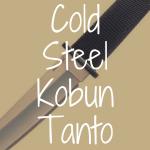 Cold Steel Kobun Tanto review