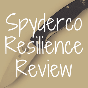 Spyderco Resilience review