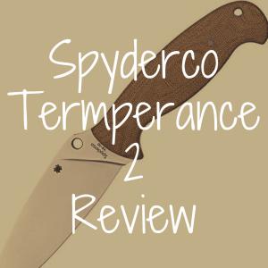 Spyderco Temperance 2 review