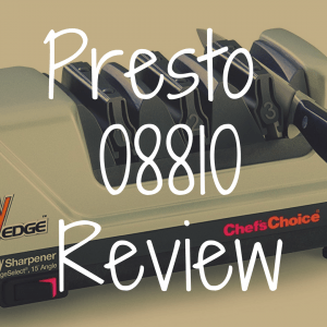 Presto 08810 review: Great electric knife sharpener