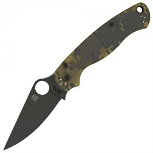Is the Spyderco Paramilitary 2 G-10 a good knife for self defense?