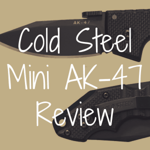 Cold Steel Mini AK-47 review