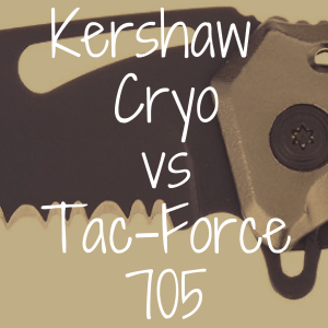 Kershaw Cryo vs. Tac-Force 705: Which is Better?