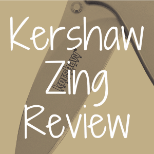 Kershaw Zing review
