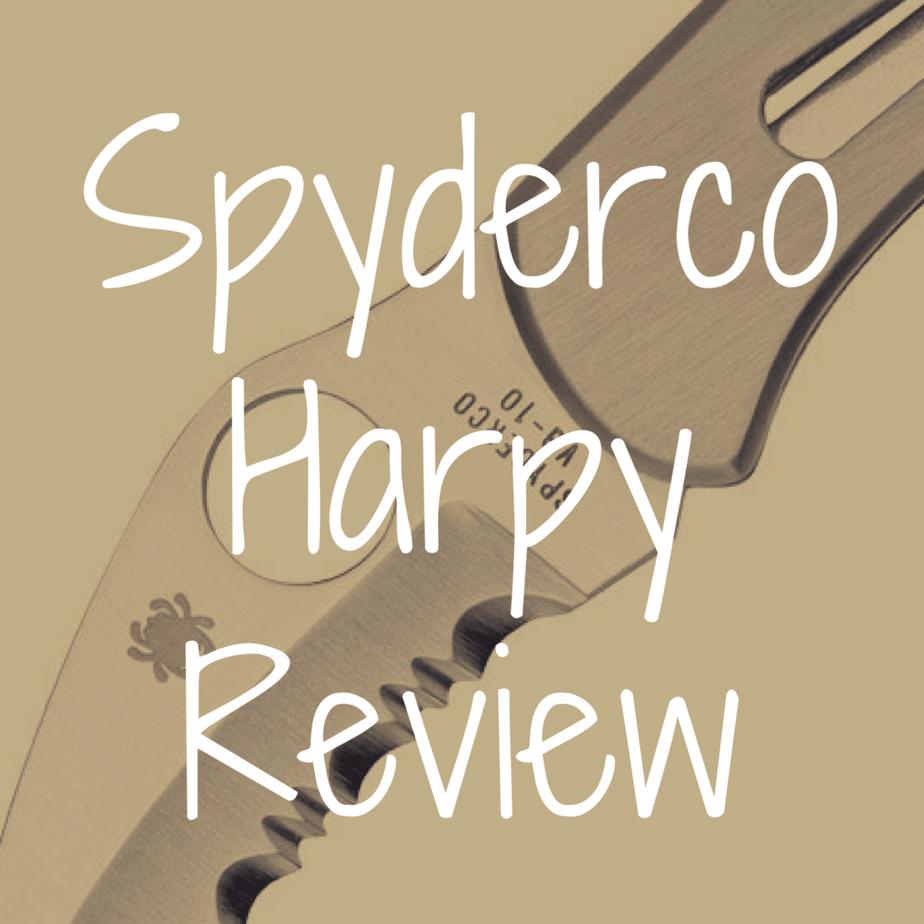 Spyderco Harpy review