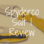 Spyderco Salt 1 review