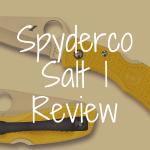 Spyderco Salt 1 review