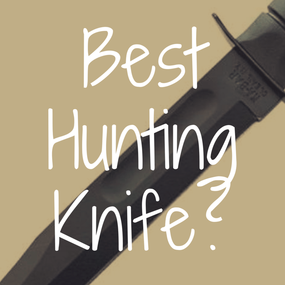 What's the Best Hunting Knife to Buy?
