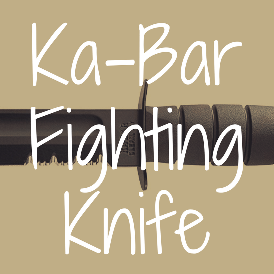KA-BAR Fighting Knife Review