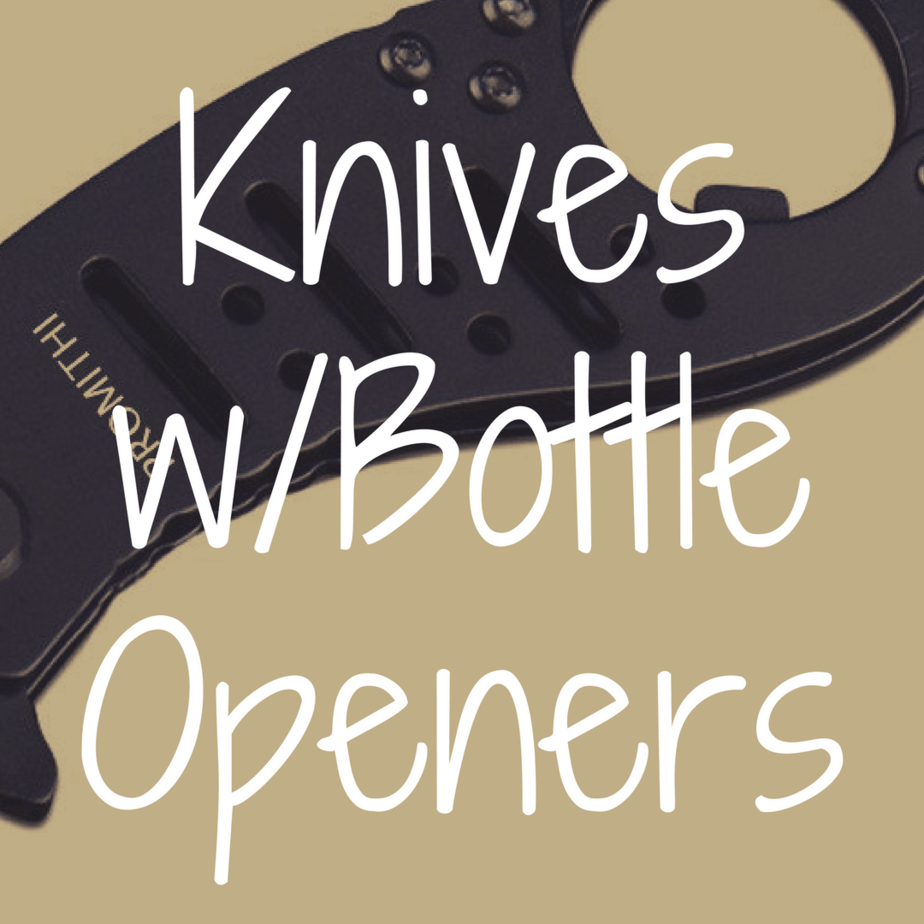 What's the Best Pocket Knife with a Bottle Opener?