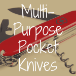 What's the Best Multi Purpose Pocket Knife?